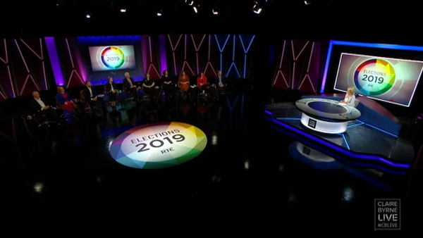 Ten of the 19 Dublin candidates appeared on the debate