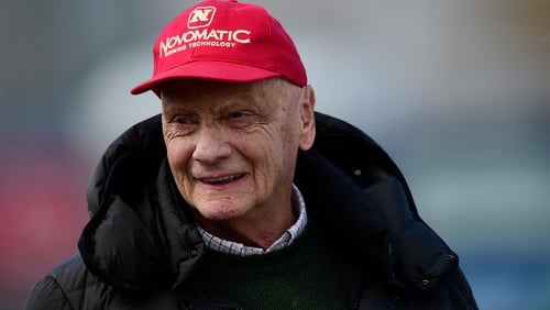 Niki Lauda, who was hospitalised in January suffering from influenza, died yesterday surrounded by family