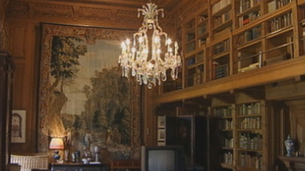 The library, Farmleigh House (1999)