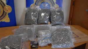 Cannabis herb and ecstasy tablets were recovered by gardaí