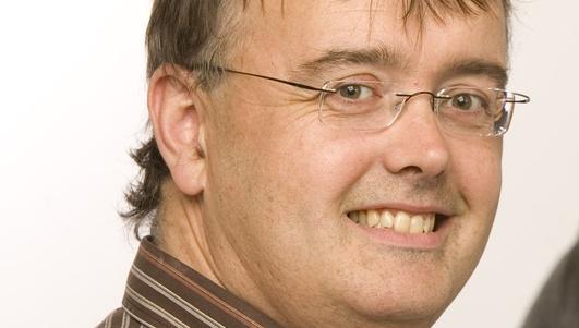 Conn Ó Muineacháin, saineolaí teicneolaíocht Black Knight Solutions.