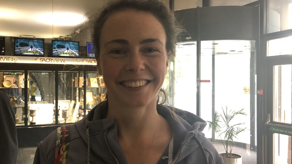 Saoirse McHugh was eliminated on the 14th count