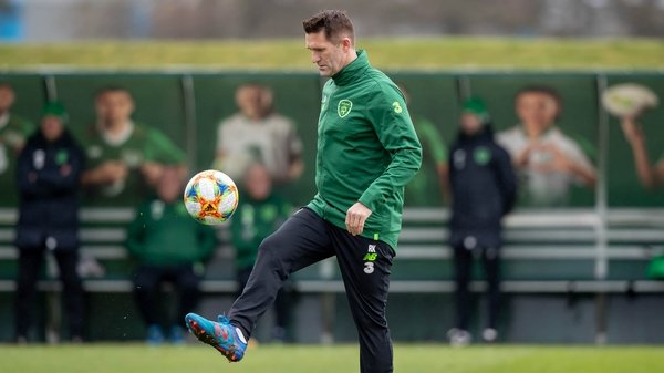 Robbie Keane will continue with Ireland