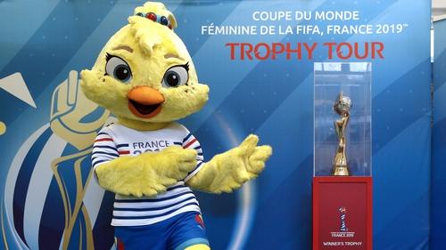 Women's World Cup mascot Ettie