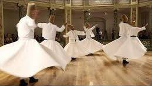 Whirling Dervishes - one good turn deserves another