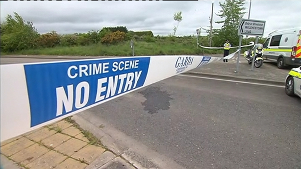 Murder inquiry after man's body found at burning car