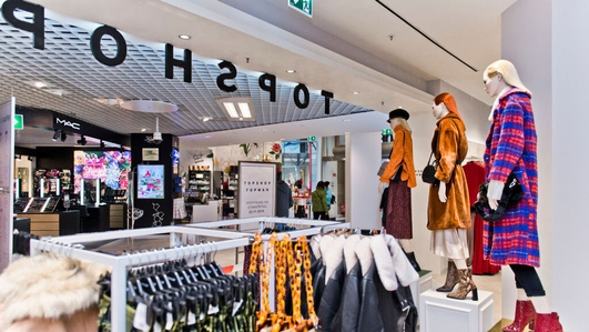 Topshop stores in Ireland earmarked for closure