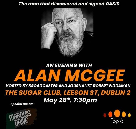 Alan McGee, founder of Creation Records