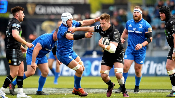 Glasgow beat Leinster 39-24 in the RDS last month