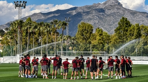 Liverpool at Marbella Football Centre yesterday