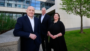 Fountain Healthcare Partners' Aidan King, Dr Manus Rogan and Dr Ena Prosser