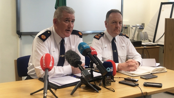 Pat Leahy (L) said a striking fact of the murders was how young the victims were