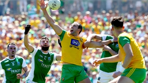 Donegal and Fermanagh met in last year's Ulster final