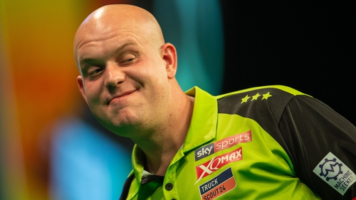 "Michael van Gerwen: ""What a phenomenal title to win again for the fifth time now, it's been an amazing tournament."""
