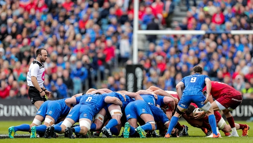 """Lenihan: """"The vast majority of the Scottish forwards all came from Edinburgh. Glasgow aren't as powerful up front and I think Leinster have an edge there"""""""