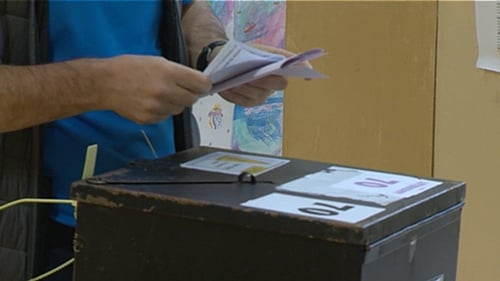 Votes that have been folded multiple times are proving tricky to post into the slots on ballot boxes