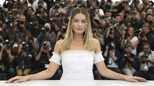 Margot Robbie at the premier of 'Once Upon a Time in Hollywood'.