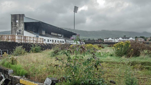 Casement Park is now in a dilapidated state (Pic credit: Antrim GAA/Forgotten Ulster)