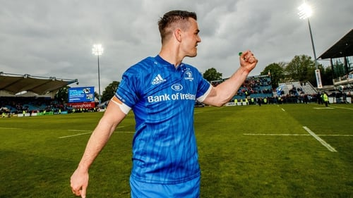 Johnny Sexton was among the Leinster replacements for the Pro 14 semi-final victory over Munster