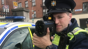 Gardaí are enforcing speed limits today as part of National Slow Down Day