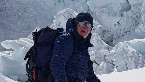 Kevin Hynes died in his tent on Everest