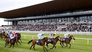 The new stand at the Curragh
