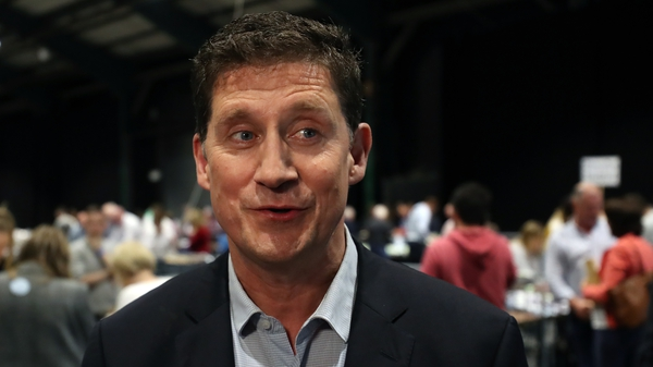 Eamon Ryan said his party's priorities were tackling climate change and protecting the environment
