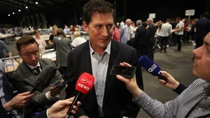 Green Party leader Eamon Ryan yesterday said a green wave of thinking had reached Ireland