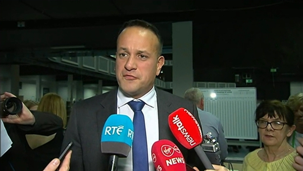 """The Taoiseach said tackling climate change would require """"lots of changes"""""""