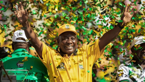 Cyril Ramaphosa vowed to root out corruption as he was sworn in as South African President