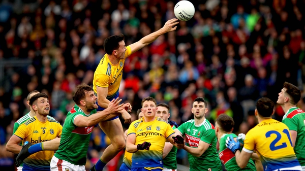 Roscommon matched Mayo at MacHale Park and a late score was enough to see them through