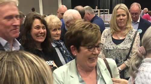 Labour's Mary Elizabeth McCamley was elected on the first count in Fingal