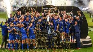 Leinster lifted the Pro14 trophy last May at Celtic Park