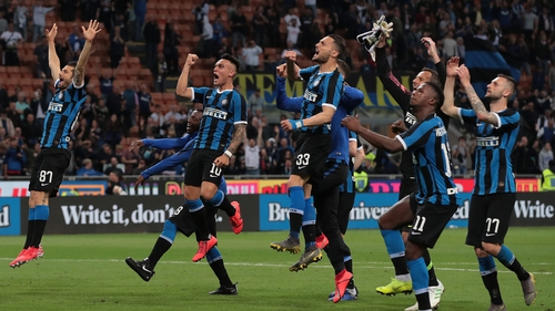 Inter Milan defeated Empoli 2-1 at home