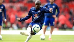 N'Golo Kante looks set to miss the Europa League final