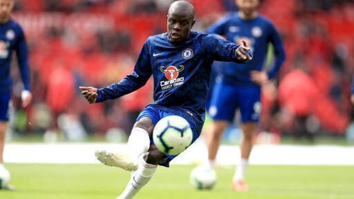 N'Golo Kante looks set to miss the Europa League final