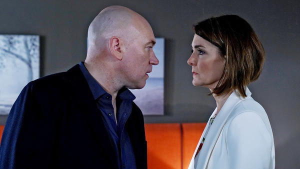 Sparks fly between Paul and Fiona on Fair City