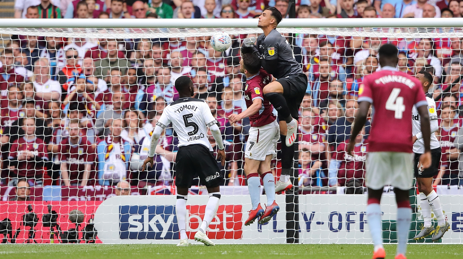 Image result for aston villa 2-1 derby