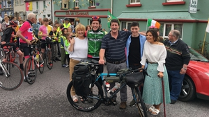It took Tomás Mac an tSaoir seven months to complete the challenge