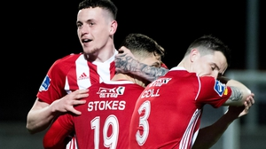 David Parkhouse scored two for Derry City