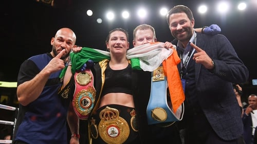 Katie Taylor: 'Heart and great chin' needed to achieve undisputed dream