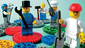 Let's go to work. Photo: Lego Serious Play