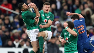 Rob Kearney (l) may face competition from Jacob Stockdale