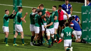 The Ireland team won all five games in the Six Nations