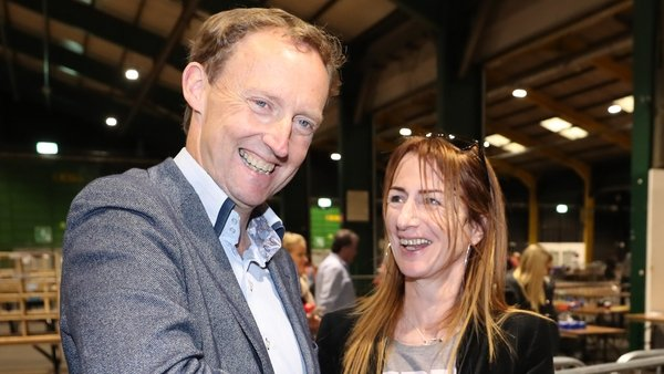 Clare Daly leap-frogged Barry Andrews on the previous count