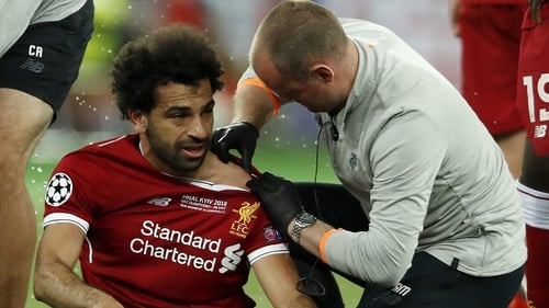 Mo Salah's Champions League final was cut short due to injury last year