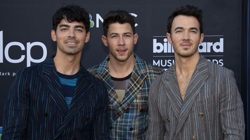 Joe, Nick and Kevin Jonas
