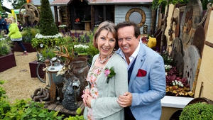 Aine Lawlor and Marty Morrissey at Bloom