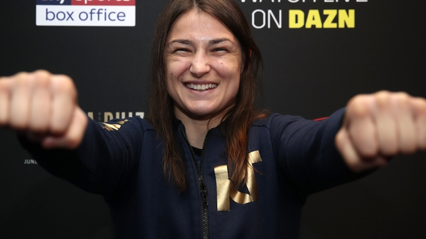 Katie Taylor earns controversial win to become undisputed lightweight champion