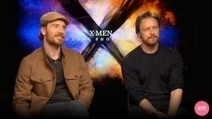 Michael Fassbendser and James McAvoy